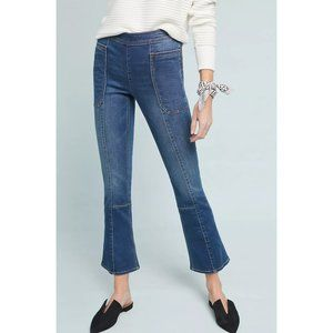 Anthro Pilcro 29 Cropped Bootcut Jeans